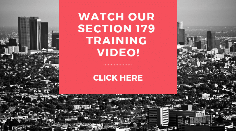 WATCH OUR SECTION 179 Training Video!